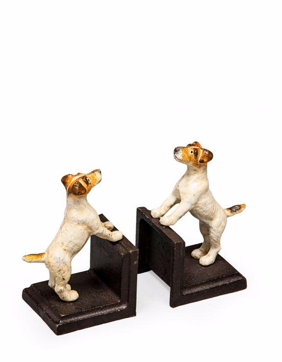 Pair of Cast Iron Antique Effect Terrier BookendsVintage FrogBrand New