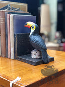 Pair of Cast Iron Antique Effect Toucan BookendsVintage FrogBrand New