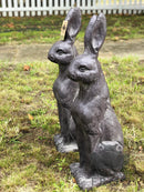 Pair of Large Hares / Rabbit Ornament FiguresVintage FrogBrand New