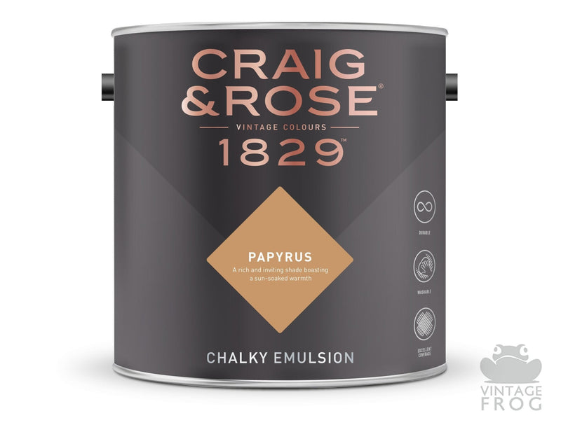 Papyrus, Craig & Rose Paint, 1829 Vintage CollectionCraig & RosePaint