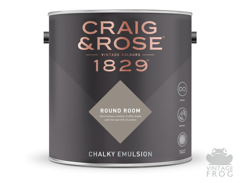 Round Room, Craig & Rose Paint, 1829 Vintage CollectionCraig & RosePaint