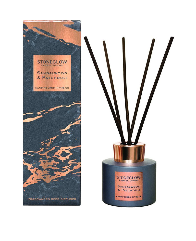 Sandalwood & Patchouli Stoneglow Reed DiffuserVintage FrogDiffuser