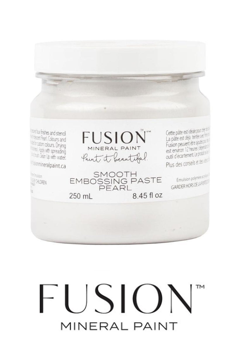 Smooth Embossing Paste - Pearl Colour, Fusion Mineral PaintFusion™Paint