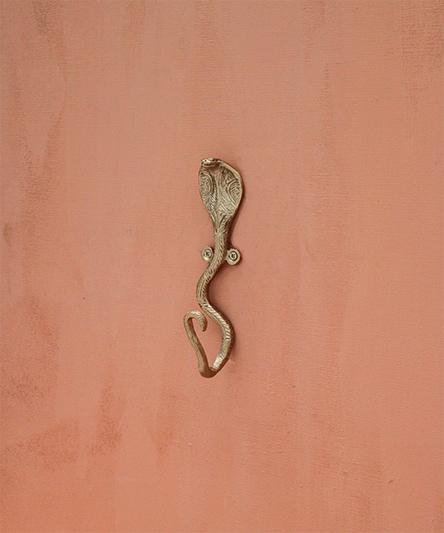 Snake Hook, Wall Mounted Brass Coat Hook DecorDoing GoodsHooks