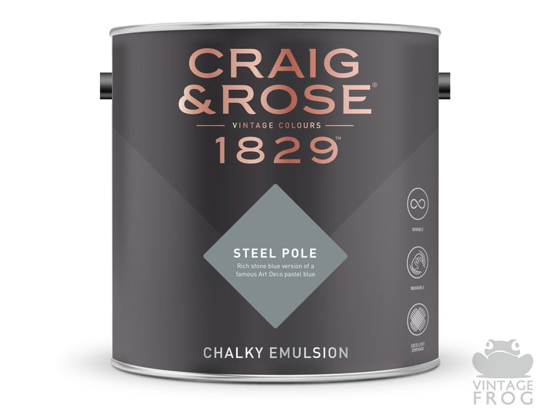 Steel Pole, Craig & Rose Paint, 1829 Vintage CollectionCraig & RosePaint