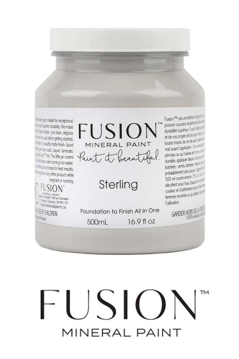 Sterling, Fusion Mineral PaintFusion™Paint