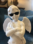 Super Cool White Cherub Figure With SunglassesVintage FrogBrand New