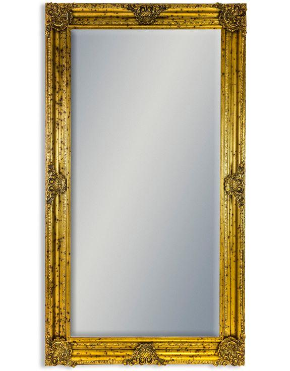 Very large Tall Gilt Frame Bevel Edged MirrorVintage FrogMirror