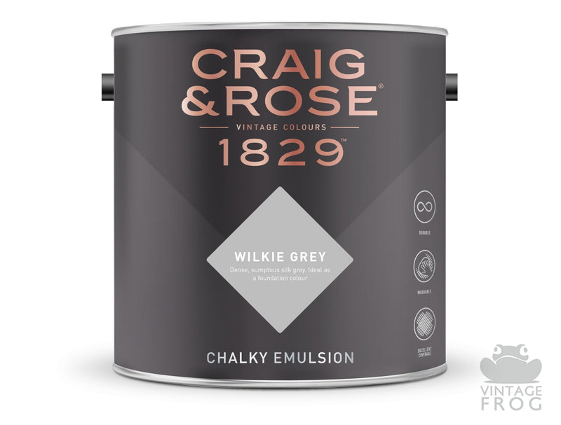 Wilkie Grey, Craig & Rose Paint, 1829 Vintage CollectionCraig & RosePaint