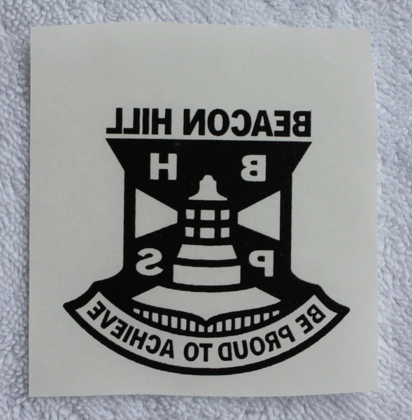 BHPS Logo Iron On Transfers