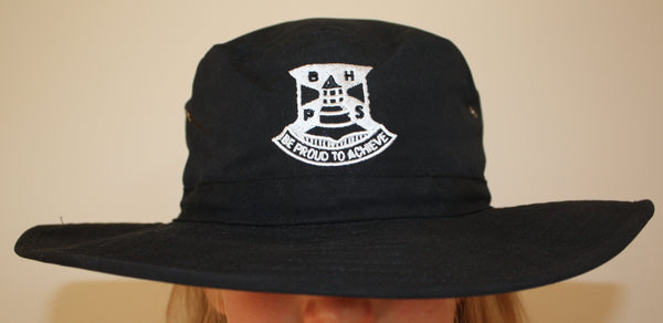 Wide Brimmed BHPS School Hat