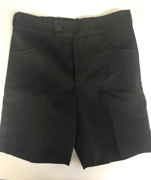 Girls Black Shorts