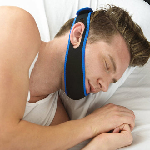 Fed up of being kept awake by your partner's loud snoring? Treat them to the Anti Snoring for their next present and finally enjoy a good nights sleep.   Snorzi provides the wearer with a comfortable and easy way to stop snoring. The strap is designed to allow better airflow, which stops the vibration of the soft tissue. So now you can both get a proper sleep.   Now you just need to deal with the consequences of buying your partner the Snorzi as a present.