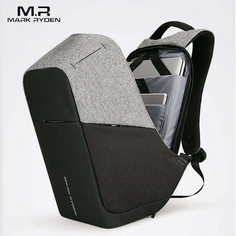 Our range of business backpacks break the monotony and have been purposefully tailored to fit the needs of the modern day travellers. Bags that are functional and practical in various ways:  1] TSA Lock for added safety  2] Large capacity storage with multiple pockets and compartments  3] In-built USB charging  4] Durable, comfortable and water resistant fabric.