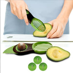 Fed up of having to use a knife and spoon to make your avocado toast in the morning? Then this Avocado Slicer is the product for you.  This knife has an oval-shaped slicer on the bottom, specially designed to get every last bit of your avocado made into the perfect segments to artfully place atop your toast.