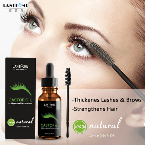 Want to have longer and stunning eyelashes? This amazing Eyelash Rejuvenation Oil can increase the length and thickness of your eyelashes and brows and can keep them growing healthy!  Our Eyelash Rejuvenation Oil contains 100% pure castor oil that is an all-natural hair-growth booster. It deeply penetrates hair follicles in your eyebrows and eyelashes so that essential vitamins and minerals can seep in to stimulate healthy hair growth!