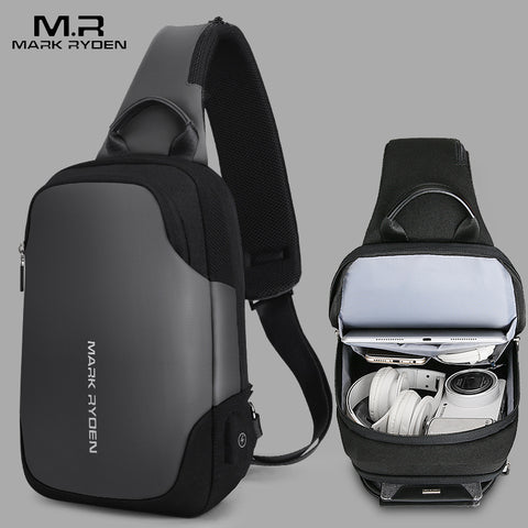 Latest Anti-Theft Crossbody Shoulder Bag, Smaller Alternative to a backpackFashionable and More Secure Crossbody Design.