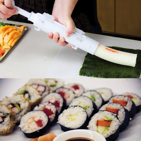 Become a Sushi making hero overnight with our Sushi Roll Bazooka.  No guess work, just create perfectly formed sushi rolls every single time.   The Sushi Bazooka will make the perfect Sushi Roll with ease and impress everyone at your next dinner party.  Now you just have to perfect making the best Sushi Rice!