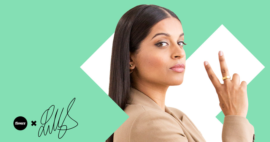 Fiverr X Lilly Singh X The Boob Company