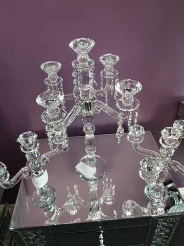 Crystal Candle Holder 16