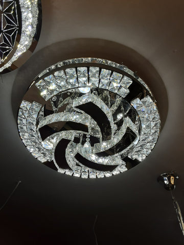 8308-550 Crystal flush light