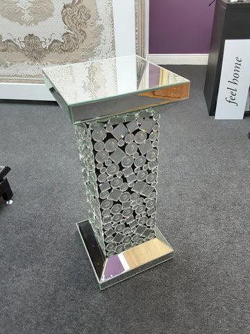 Mirrored Corner Table