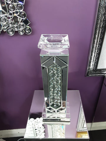 Mirrored Candle Holder