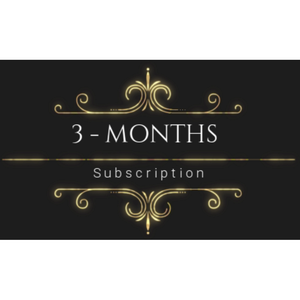 3 Months subscription