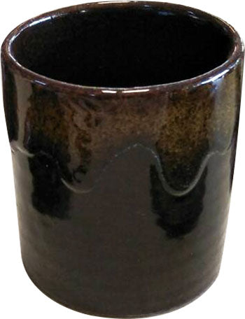 MODERN CERAMIC HAND MADE 2 SHAPE OF BROWN TEA CUP