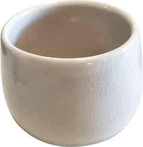 MODERN CERAMIC HAND MADE CREAM COLOR TEA CUP