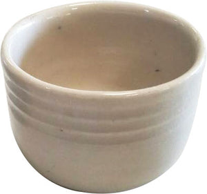 TRADITIONAL CERAMIC HAND MADE CREAM COLOR TEA CUP