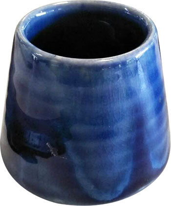 TRADITIONAL CERAMIC HAND MADE BLUE TEA CUP