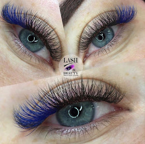 PURE BLUE COLOR .07mm MIX Tray - Lana Beauty Academy