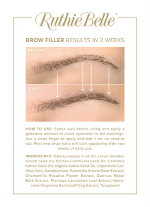"FREE Brow Filler Flyer 11"" x 8.5"""