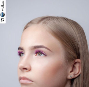 PINK/PURPLE COLOR .07mm MIX Tray - Lana Beauty Academy