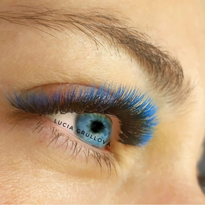 BLUE/BLACK OMBRÉ COLOR .07mm MIX Tray - Lana Beauty Academy