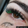PURE GREEN COLOR .07mm MIX Tray - Lana Beauty Academy