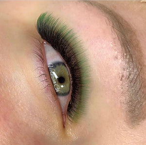 GREEN/BLACK OMBRÉ COLOR .07mm MIX Tray