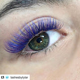 PURE PURPLE COLOR .07mm MIX Tray - Lana Beauty Academy