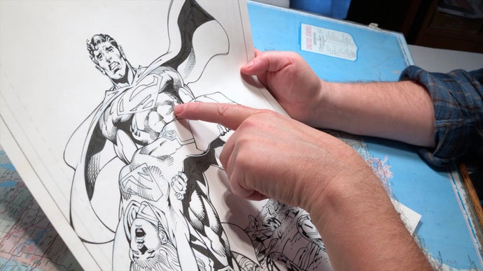Inking Neal Adams