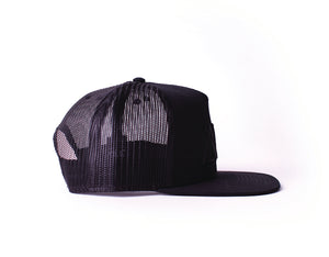 "Black on Black ""Midnight"" Mesh SnapBack"