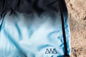 """Making Waves"" Board Shorts (Mint fade)"