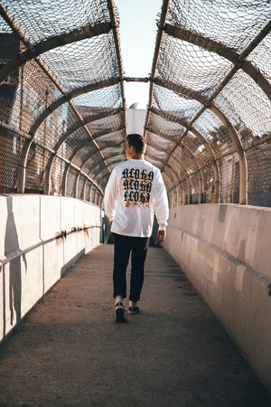 """Three Peat"" Long Sleeve Tee"