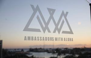 Large Ambassadors With Aloha Sticker