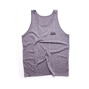 "Athletic Grey Tri-blend ""Spinal"" Tank"
