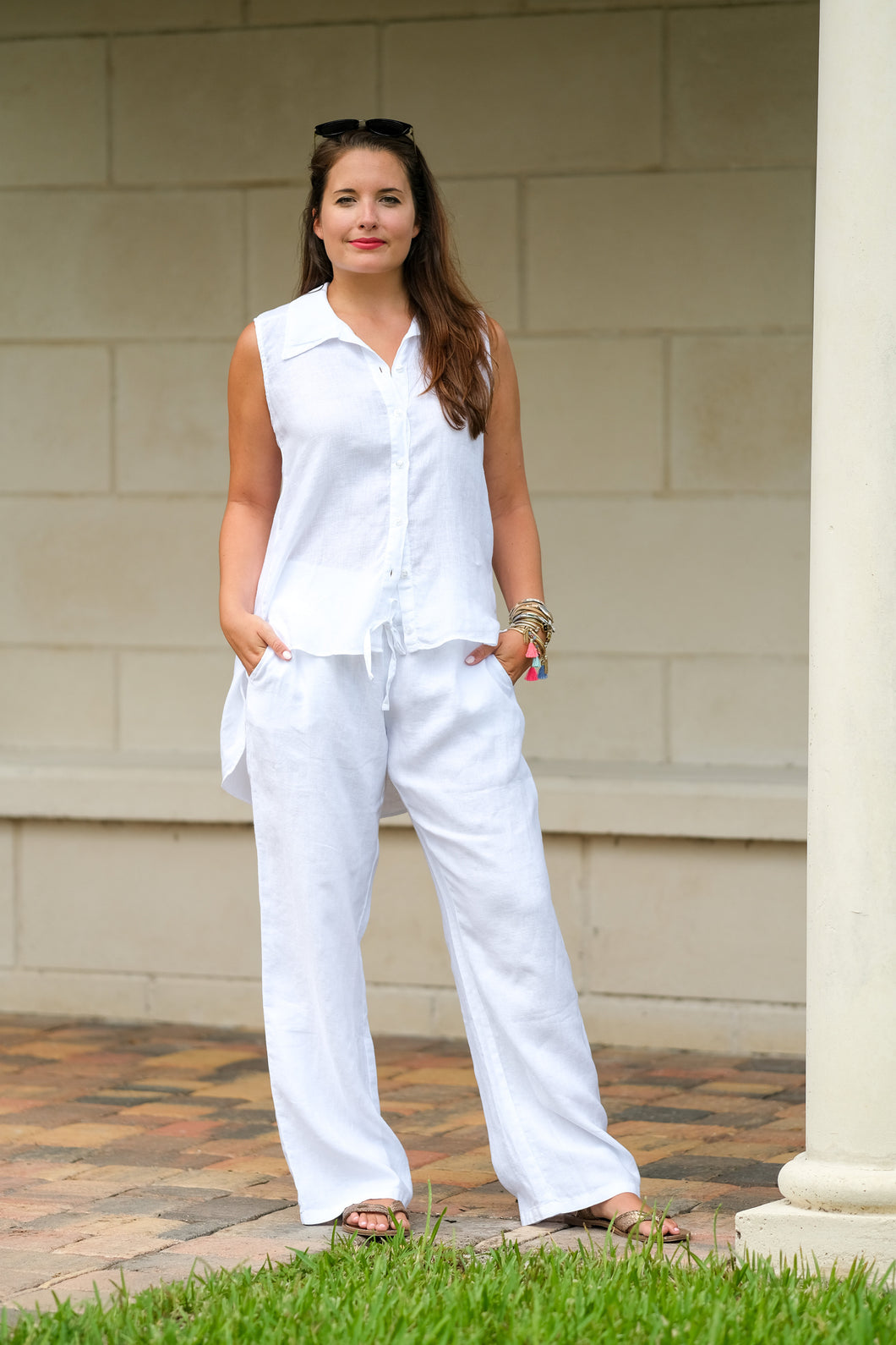 Greece Linen Pants