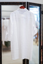 Load image into Gallery viewer, Greece Linen Shirt Dress