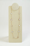 Designer inspired Mother of Pearl Necklace