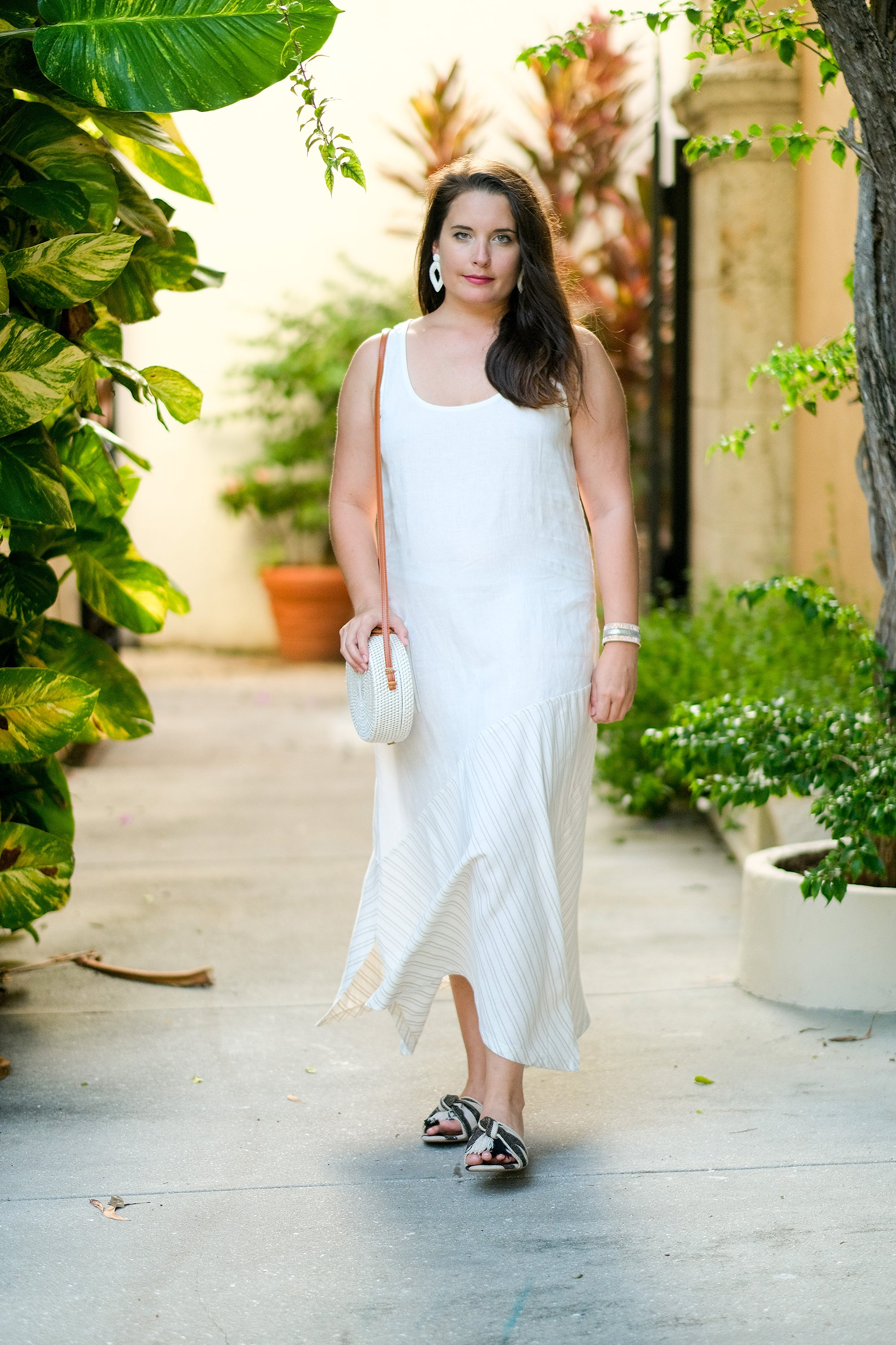Greece Linen Dress