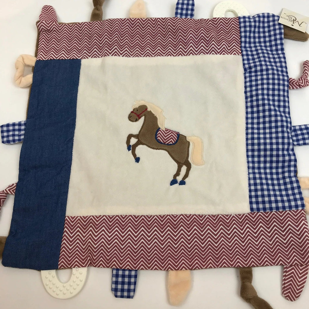 Carson the Colt Multi Function Blankie
